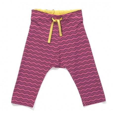 Штанишки для девочек Гевис фиолетовые в зигзаг (Gewis Baby Pants Purple Zigzag 1614333) Albababy