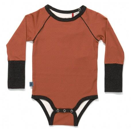 Боди для мальчиков Грег оранжевое (Greg Body Orange Cubes 16191) Albababy