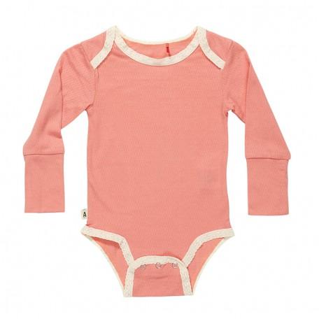 Боди для девочек Гэбин розовое Gabin Body Rose (161822) Albababy