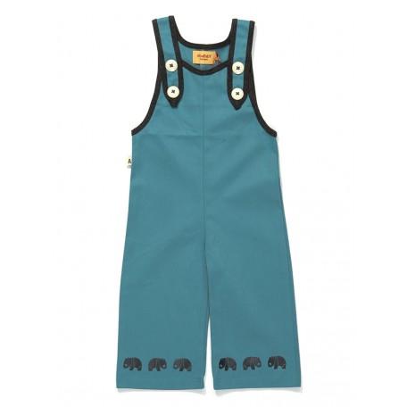 Комбинезон на пуговках для мальчиков Гариан голубой (Garian Crawlers Blue 1611771) Albababy