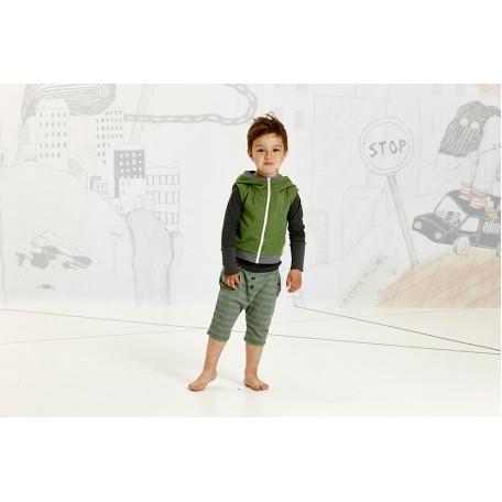 Шорты для мальчиков Густав зеленые в полоску (Gustav Knickers Green Striped 1616572) Albababy