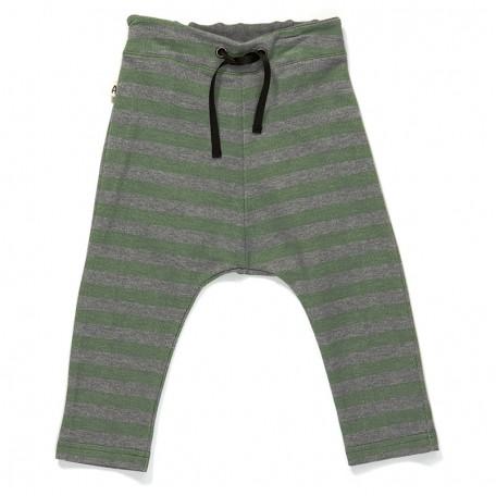 Штанишки для мальчиков Гевис зеленые в полоску (Gewis Baby Pants Green Striped 1614331) Albababy