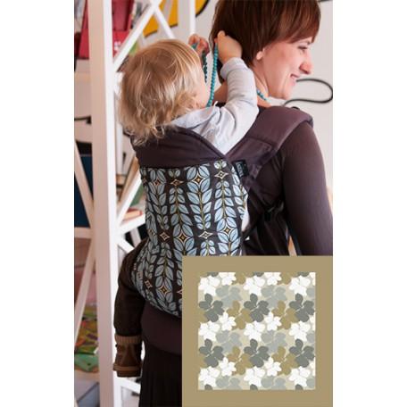 Эрго-рюкзак Angelpack цветы/карамель