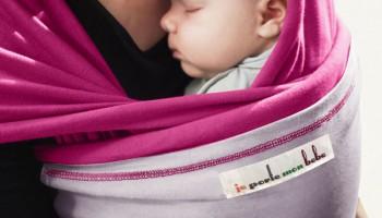 Как правильно завязать слинг для новорожденного?