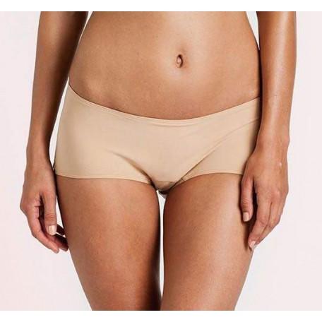 Трусы-шортики для беременных Hot Pant телесные 7122 Bella Materna