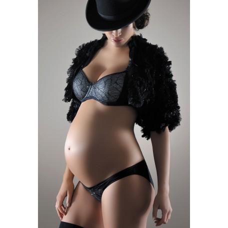 Бюстгальтер для беременных и кормящих Cache Coeur Magic Black (Волшебство черный)