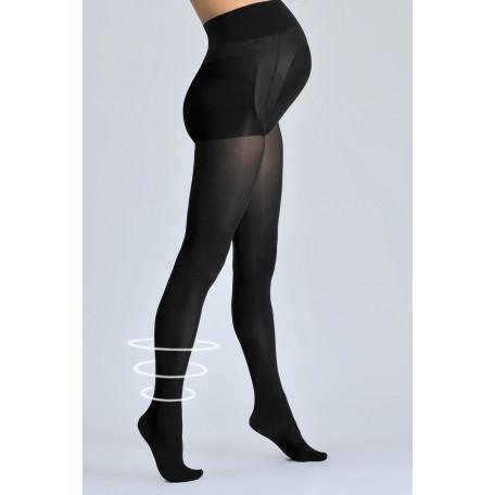 Колготки для беременных для беременных Cache Coeur Active Soft Black 70D (Мягкие шелковистые)