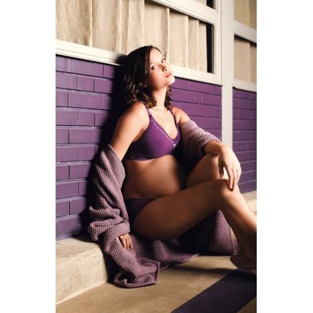 Бюстгальтер для беременных и кормящих Cache Coeur Illusion Violine (Иллюзия фиолетовый)