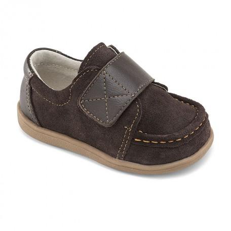 Ботинки для мальчиков Вальтер коричневые (Walter Brown ) SeeKaiRun