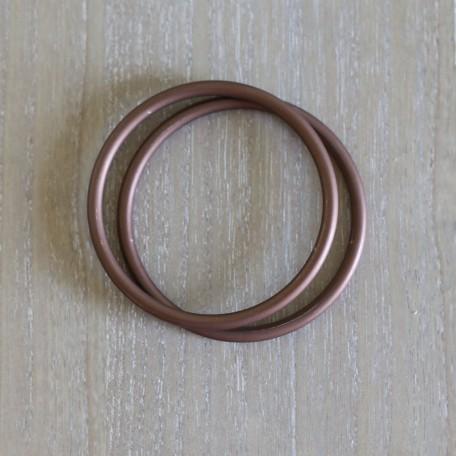 Кольца для слингов Slingrings (Слингрингз)  Ø 9см (размер L) бронзовые