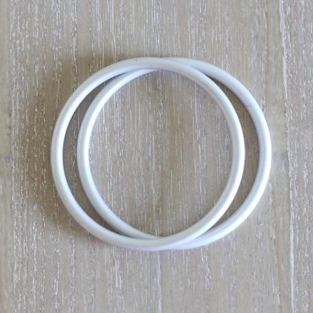 Кольца для слингов Slingrings (Слингрингз)  Ø 9см (размер L) серебряные