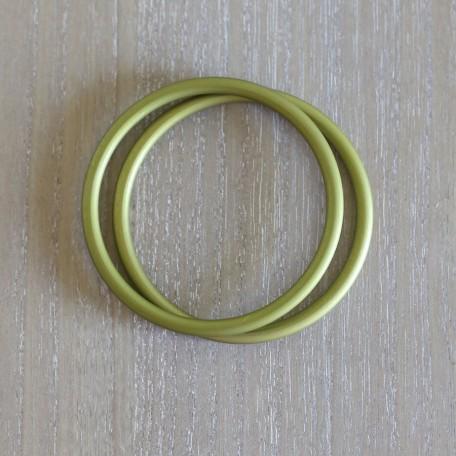 Кольца для слингов Slingrings (Слингрингз)  Ø 9см (размер L) зеленые