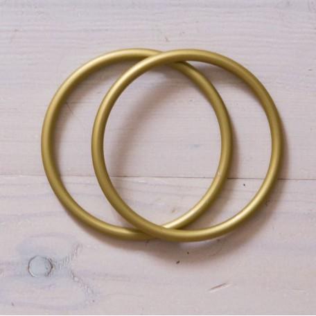 Кольца для слингов Slingrings (Слингрингз)  Ø 9см (размер L) золотые