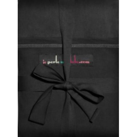 Слинг-шарф трикотажный JPMBB Черный/черный для новорожденных