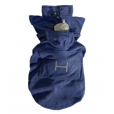 Слингонакидка флисовая Hoppediz синяя