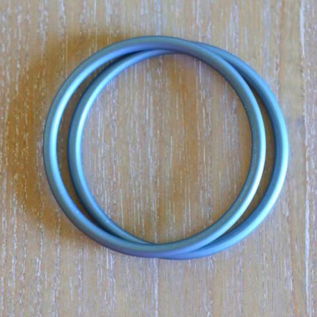 Кольца для слингов Slingrings (Слингрингз)  Ø 9см (размер L) голубые