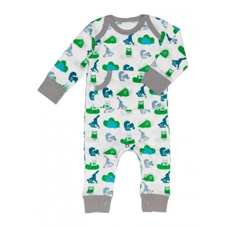 Пижама детская Fresk Лес голубо-зеленая FP 246 купить