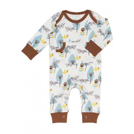 Пижама детская Fresk Лиса серо-голубая FP 218 купить