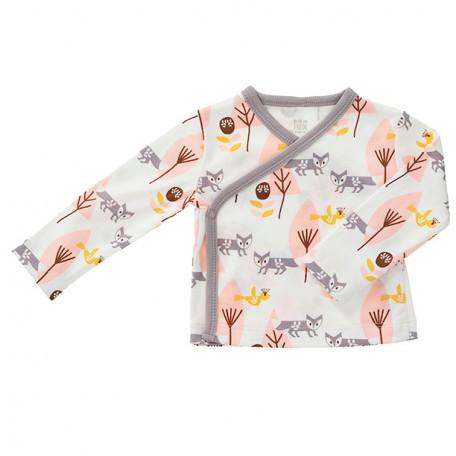 Распашонка Fresk Лиса розовая FС 619 купить