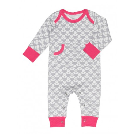 Пижама детская серая Fresk Цветение FP 264 купить