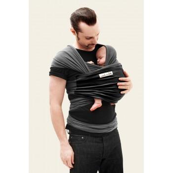 Трикотажный cлинг-шарф JPMBB Графит/чёрный