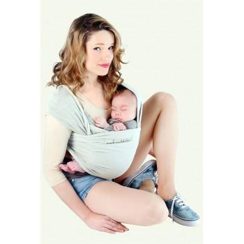 Трикотажный слинг для новорожденных JPMBB Жемчуг