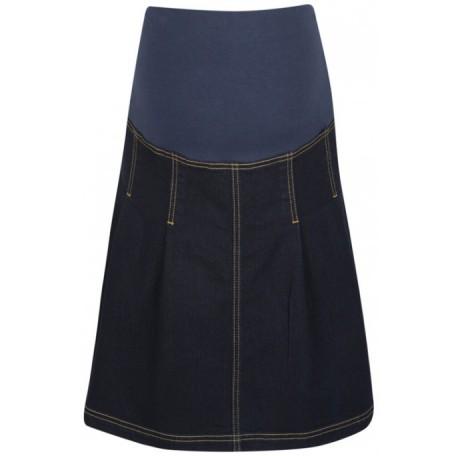 Юбка джинсовая темно-синяя (B4602) Jojo цвет темно-синий