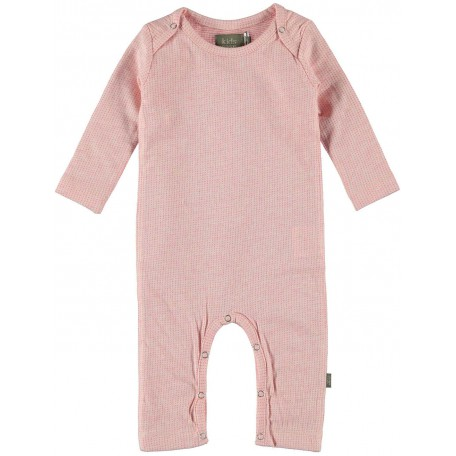 Комбинезон детский organic 9007 Джоб розовый Kidscase