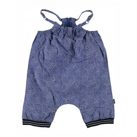 Комбинезон-песочник детский Грейс синий 9062 Kidscase