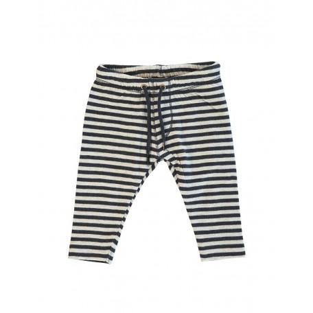 Штанишки детские в полоску цвет синий/кремовый 8049 (Шон) Kidscase
