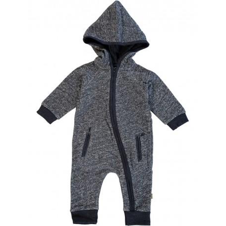 Комбинезон с длинным рукавом и капюшоном детский синий 8068 Уокер Kidscase