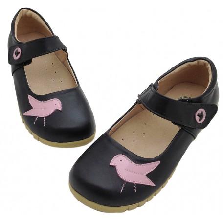Пио Пио шоколадные туфли для девочек (размеры 31-37) Livie and Luca