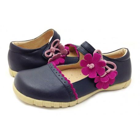 Блюбел синие туфли для девочек (размеры 31-37) Livie and Luca