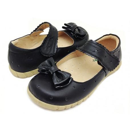 Долли черные туфли для девочек (размеры 31-37) Livie and Luca