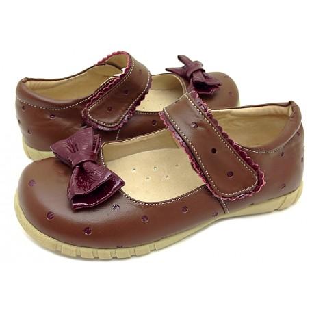 Долли коричневые туфли для девочек (размеры 31-37) Livie and Luca
