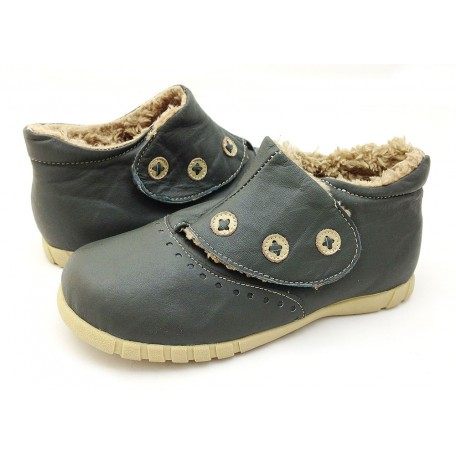 Лондон серые туфли для девочек (размеры 31-37) Livie and Luca