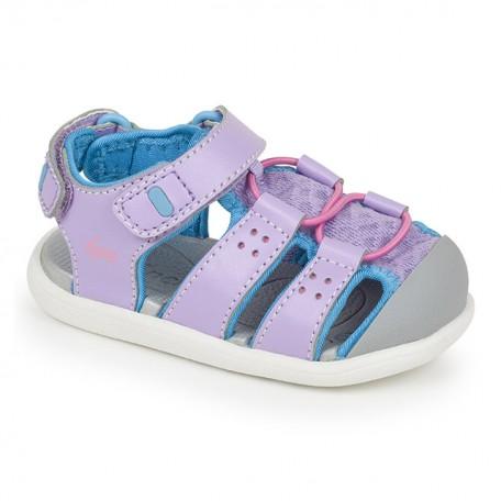 Сандалии для девочек Lincoln Lavender Toddler (Линкольн сиреневые) SeeKaiRun