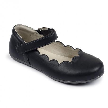 Туфли для девочек Savannah Black от 2 до 8 лет (Саванна черные) SeeKaiRun