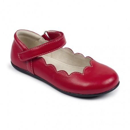 Туфли для девочек Savannah Red (Саванна красные) SeeKaiRun