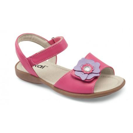 Босоножки для девочек Tingting Hot Pink (Тингтинг ярко-розовые) SeeKaiRun