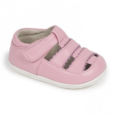 Сандалии на первые шаги Brook Pink (Брук розовые) SeeKaiRun