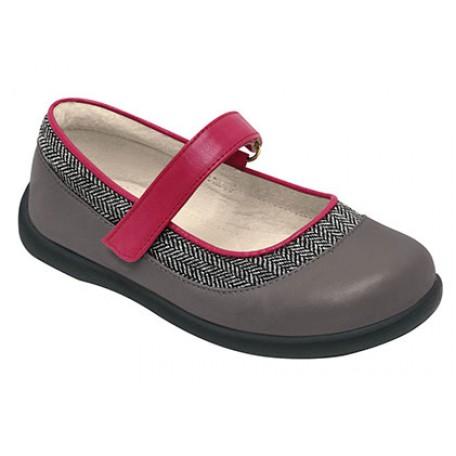 Туфли для девочек Sage Grey (Сейдж серые) SeeKaiRun