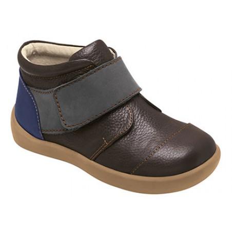 Ботинки для мальчиков коричневые Alden Brown (Альден коричневые) SeeKaiRun