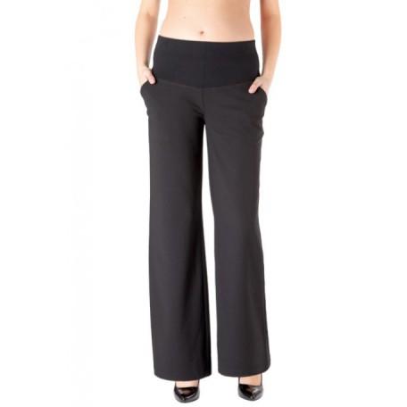 Штаны широкие (A9947) Jojo цвет черный