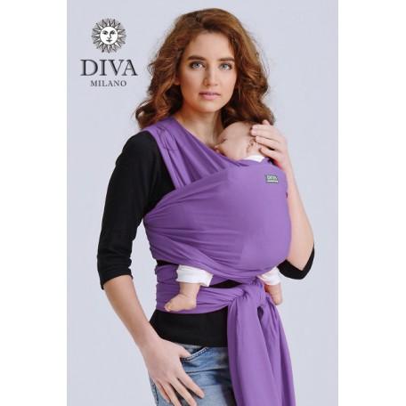 Слинг-шарф трикотажный Diva Stretchy Lilia для новорожденных