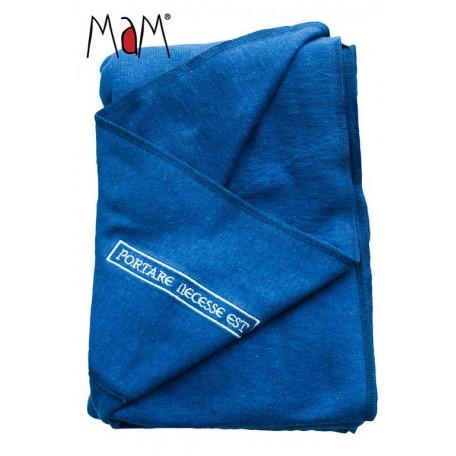 Слинг трикотажный MaM ECO One Синий для новорожденных