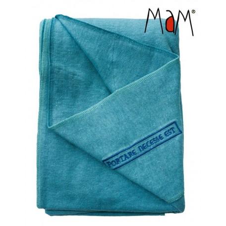 Слинг трикотажный MaM ECO One Голубой для новорожденных
