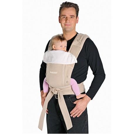 Эрго-рюкзак Hoppediz Бондолино Классический Песочный/кремовый