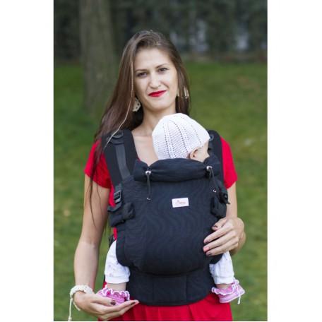 Эрго-рюкзак Di Sling Adapted Black (Ди-слинг Черный)