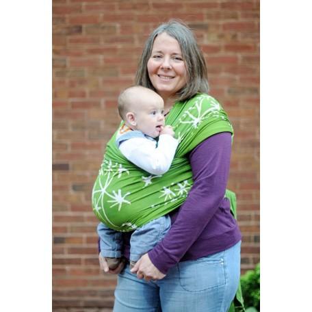 Слинг-шарф трикотажный Gypsymama Bali Stretch Бриджит для новорожденных